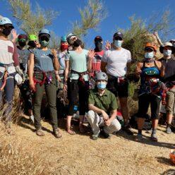 Group photo of Basic students